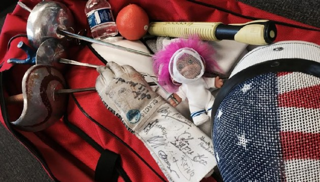 What's in Your Bag- Practical Tips for the Equipment Bag from a Fencing Mom 2