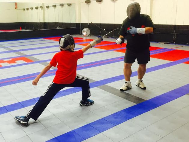 Why are fencing private lessons so short?