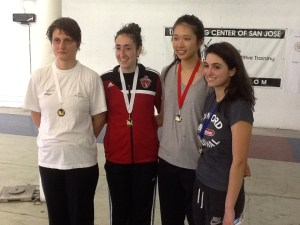 Taly Yukelson got Bronze at Bay Cup Women's Epee tournament