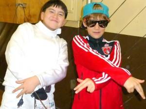 Fencing Teammates