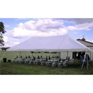 20x40 Pole Tent Rental
