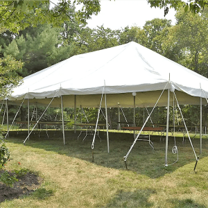30x45 Pole Tent Rental