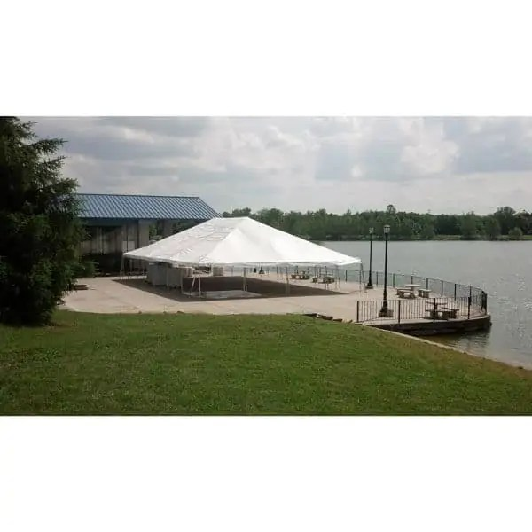 40x60 engineered frame tent rental