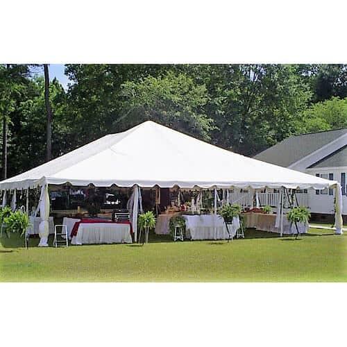 40x60 Frame Tent Rental Academy Rental Group