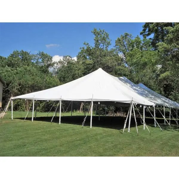 40x60 pole tent rental