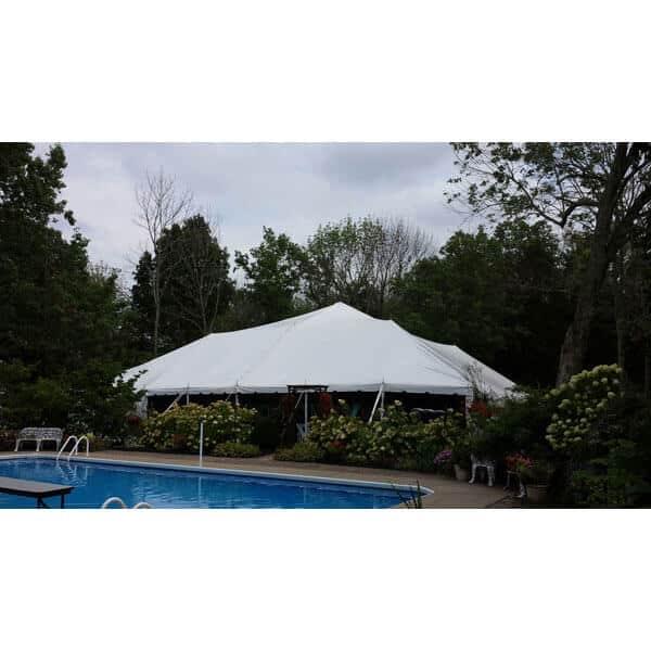 60x60 Pole Tent Rental