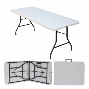 Banquet Table Rental Cincinnati - Plastic Foldable
