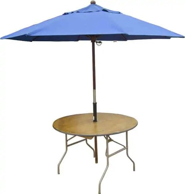 Umbrella Table Rental Cincinnati