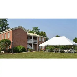 48 guest pole tent package