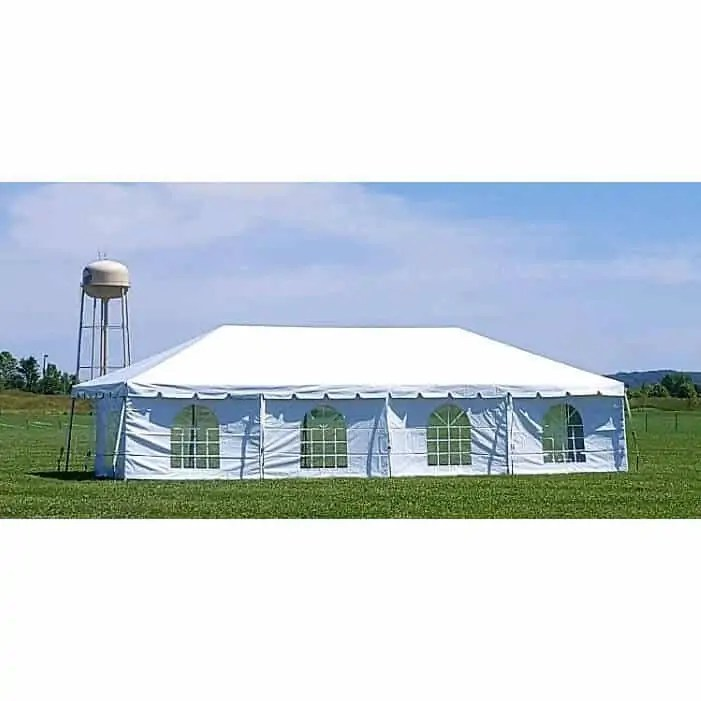 64 Guest Frame Tent Package Rentals Academy Rental Group