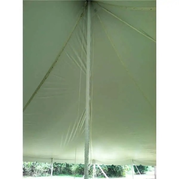 Center pole tent cover rental