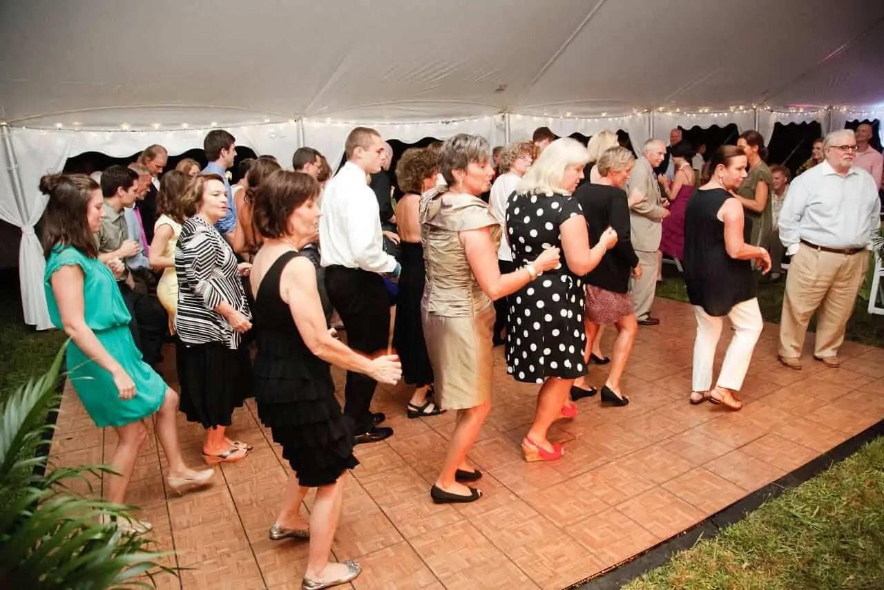 Wedding Dance Floor Rental Cincinnati
