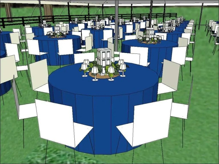 Cincinnati Wedding Tent Layout_Custom