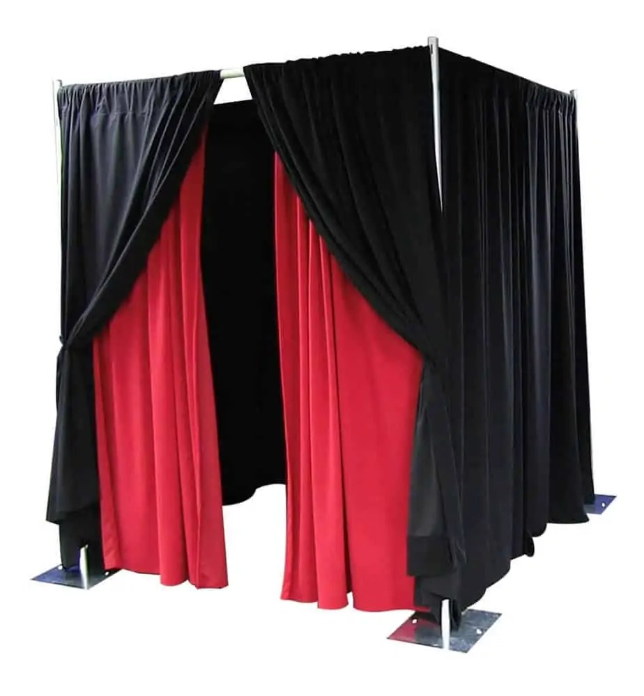 Photo Booth Pipe and Drape