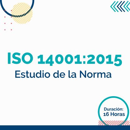 Estudio de la Norma ISO 14001:2015