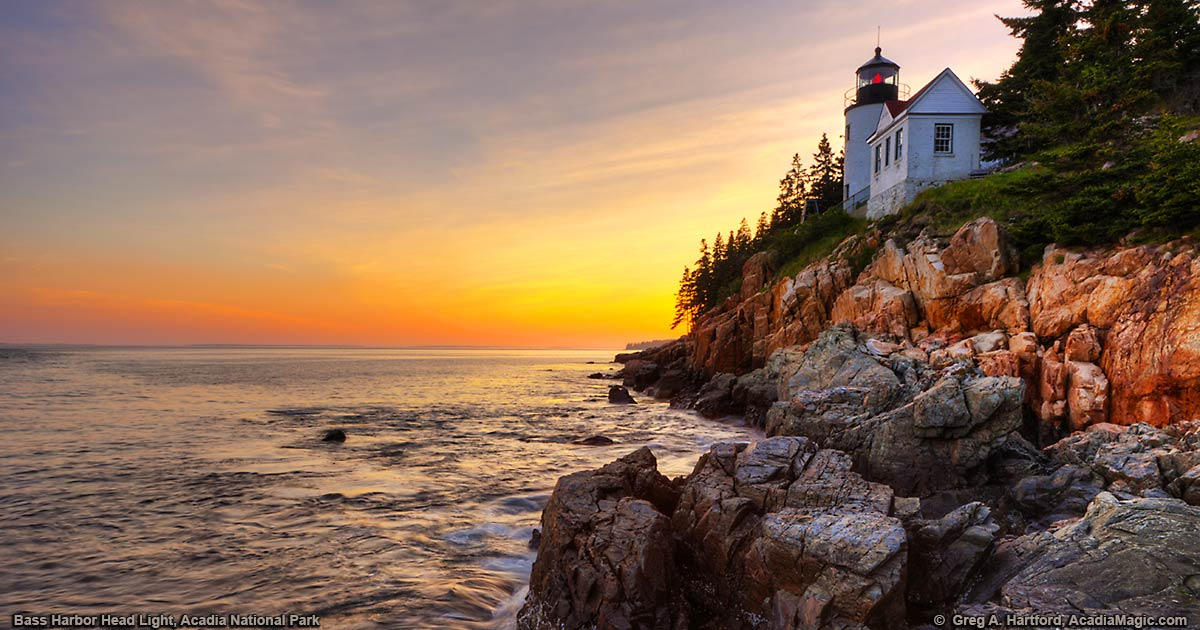 Fall Foliage Wallpaper For Computer Bass Harbor Head Lighthouse Photo