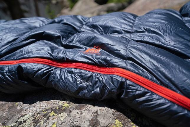 Sleeping bag (REI Co-op Magma shell fabric)