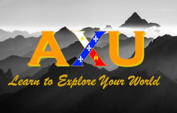 AXU Logo w Background