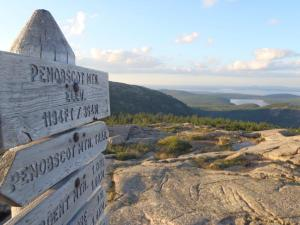 Veiw of Eagle Lake from Penobscot Mountain
