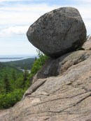 Bubble Rock in Acadia National Park helped prove the Ice Age