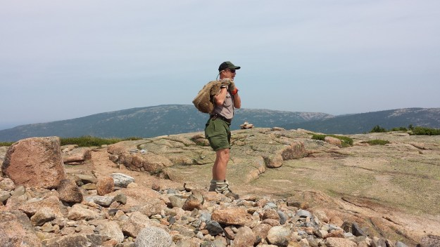 Charlie Jacobi, natural resource specialist for Acadia National Park.