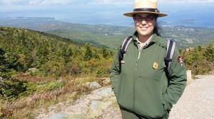 Acadia National Park Ranger Fiana Shapiro