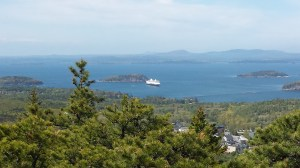 cruise ship acadia national park