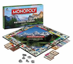 National Parks edition of Monopoly