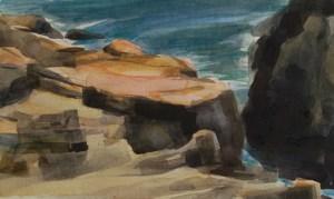 acadia watercolor