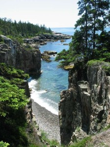 schoodic peninsula in acadia national park