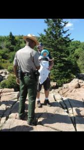 Acadia National Park ranger