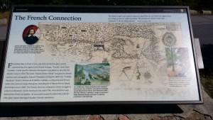 Acadia wayside exhibit