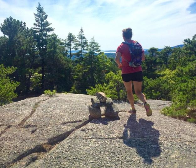 acadia national park running
