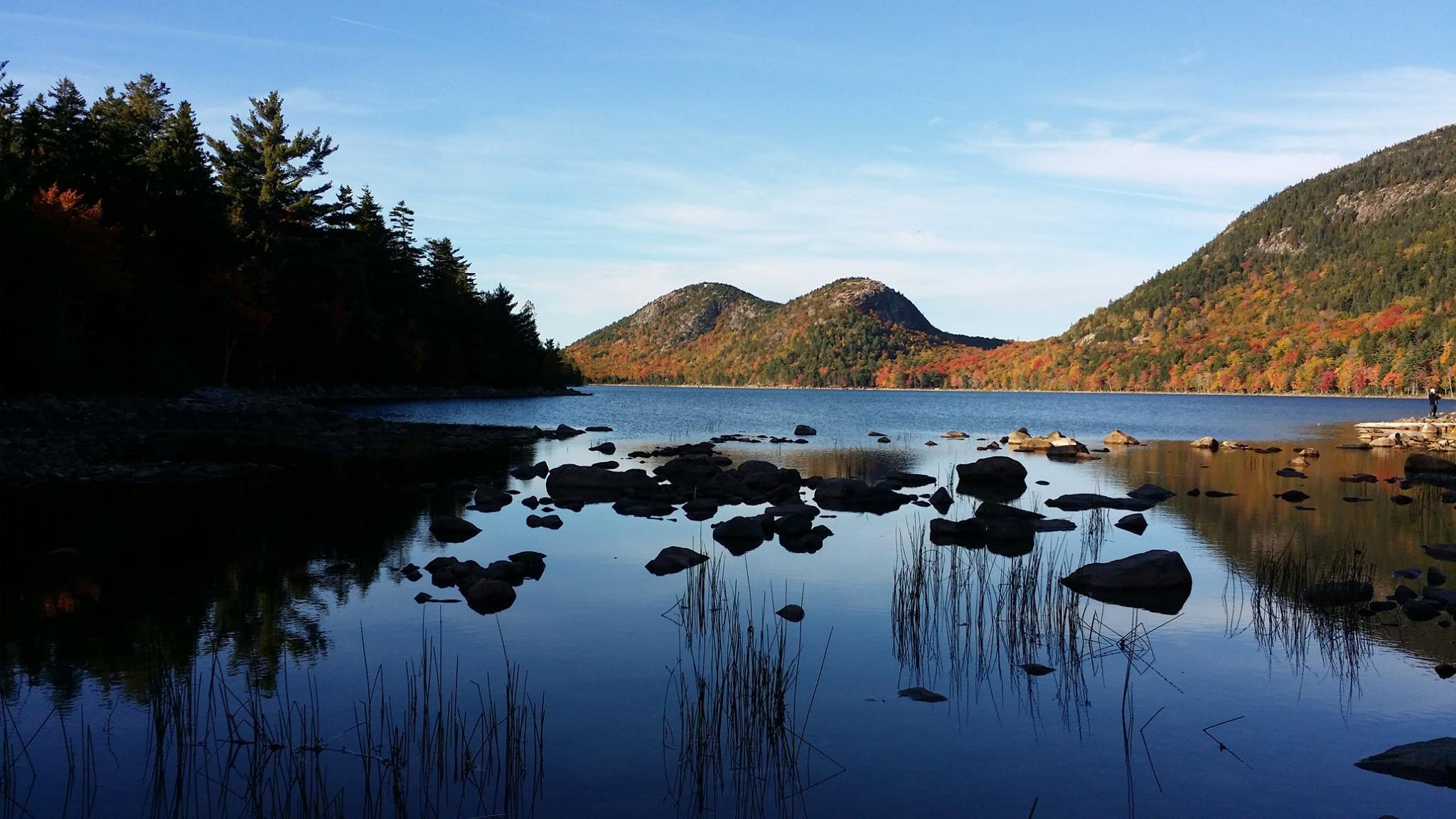 Jordan pond a special fall experience at acadia national park for Pond supplies near me