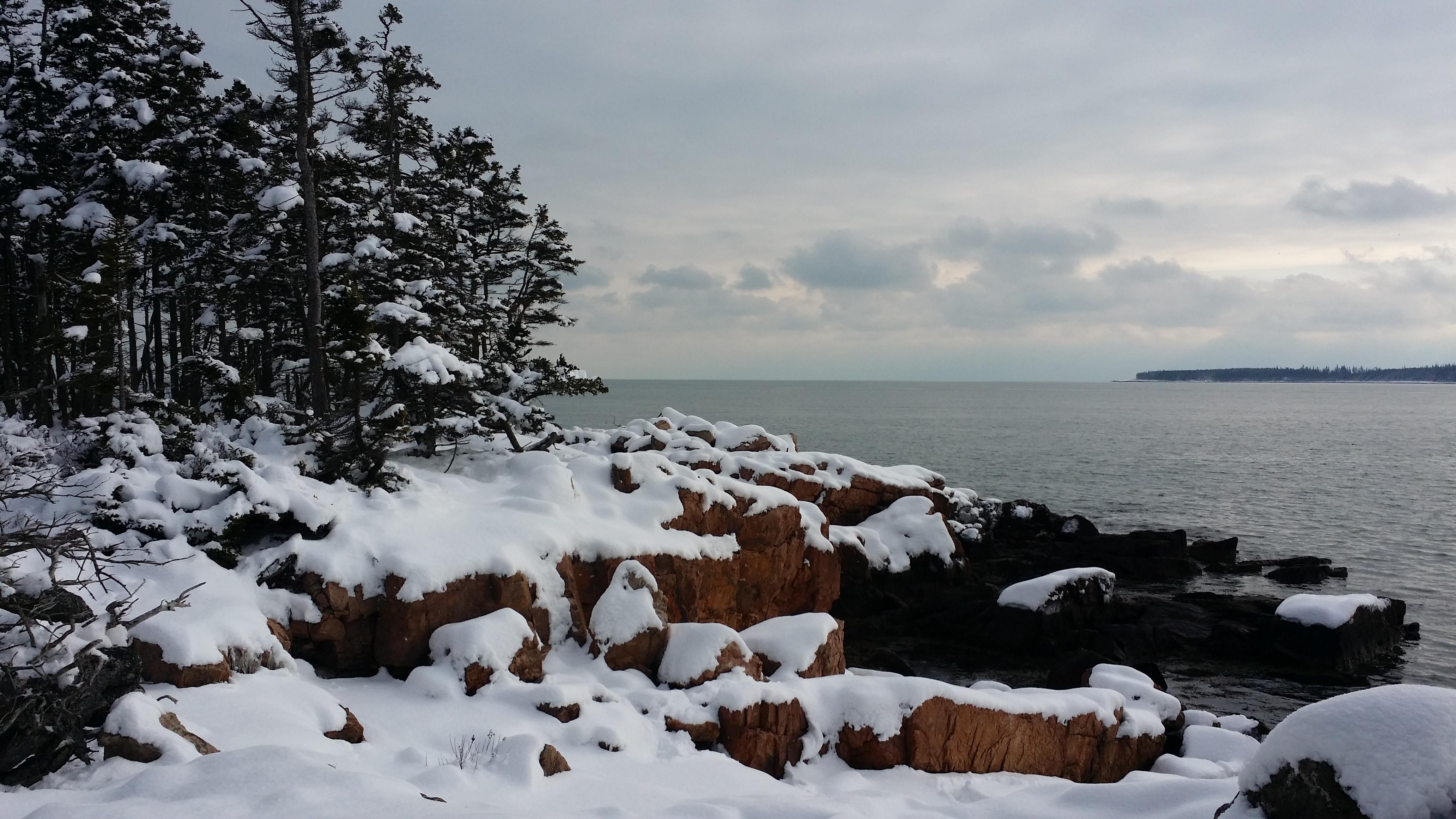 Coast Acadia's Maine Year-round Hiking Harbor For Ship Ideal