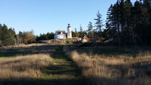 The Baker Island Lighthouse in Acadia National Park