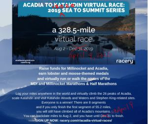 virtual race with medal