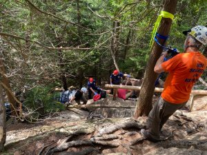 Rescue on Pemetic Mountain in Acadia National Park