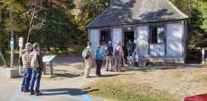 Lines at Thunder Hole Gift Shop at Acadia National Park