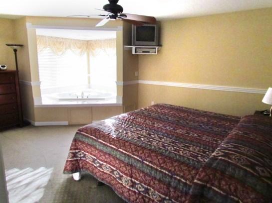 Manor Master Bedroom Acadia Village Resort