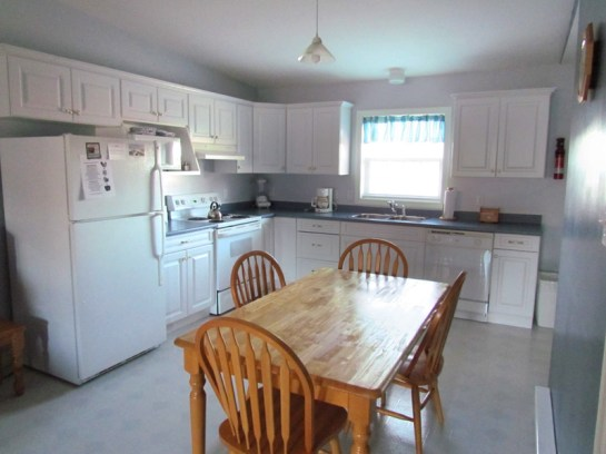Villa A Side Kitchen Acadia Village Resort