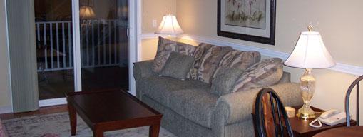 Manor B side living room