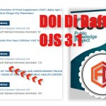 Menambahkan DOI pada Table of Content OJS 3.1