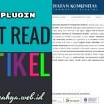 Menampilkan Sidebar Most Read Article OJS 3