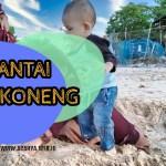 Pantai pak koneng dumai indonesia