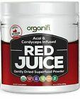 Organifi – RED JUICE – Superfood Powder – 10z Acai & Cordyceps Infused