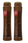 Brazilian Blowout Acai Anti-Frizz Shampoo 12oz, 2-pack BOTH Color Save Free S