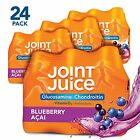 Joint Juice Glucosamine and Chondroitin Supplement, Blue Acai, 8 fl oz Bottle, (