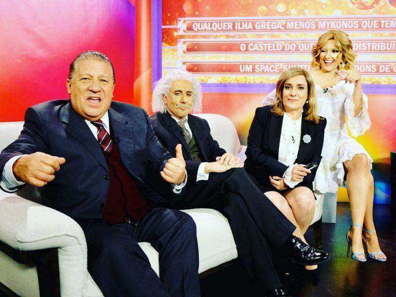 """Cristina de Sonho""| Herman José satiriza concurso de Cristina Ferreira"
