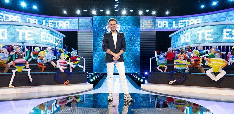 Não Te Esqueças da Letra!. João Paulo Rodrigues anima noites da RTP